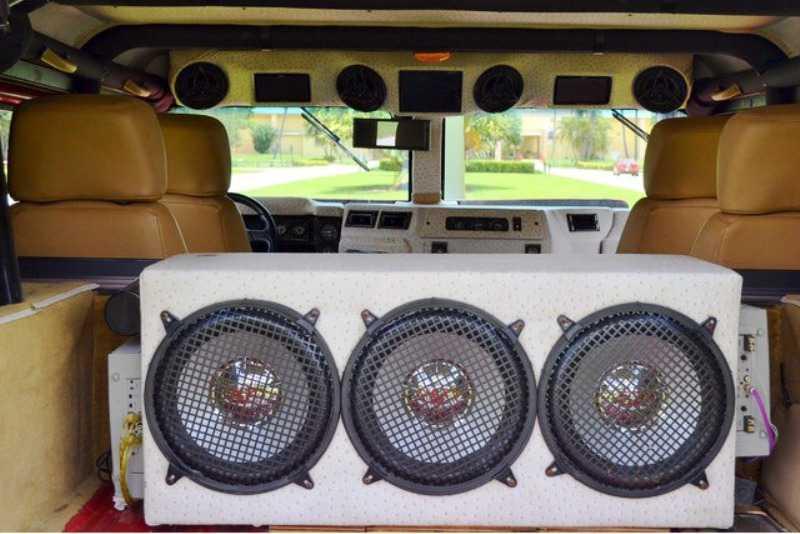 Аудиосистема Hummer H1