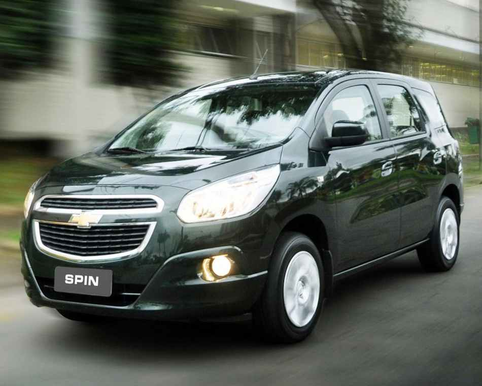 Chevrolet Spin фото