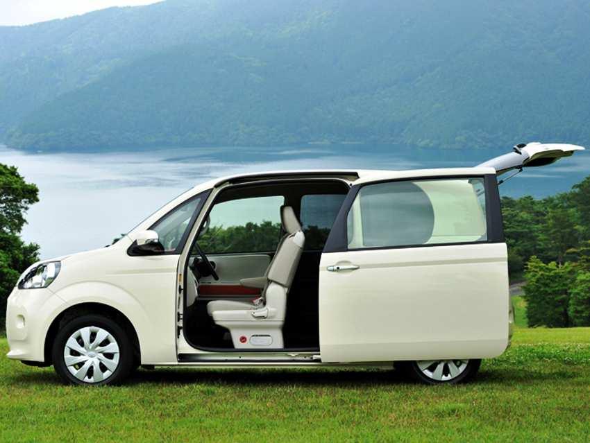 Двери Toyota Porte 2013
