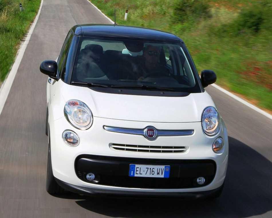 Fiat 500L фото