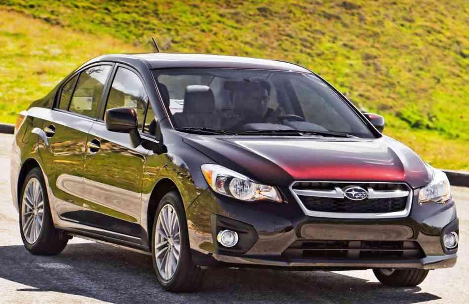 Фото Subaru Impreza 2012