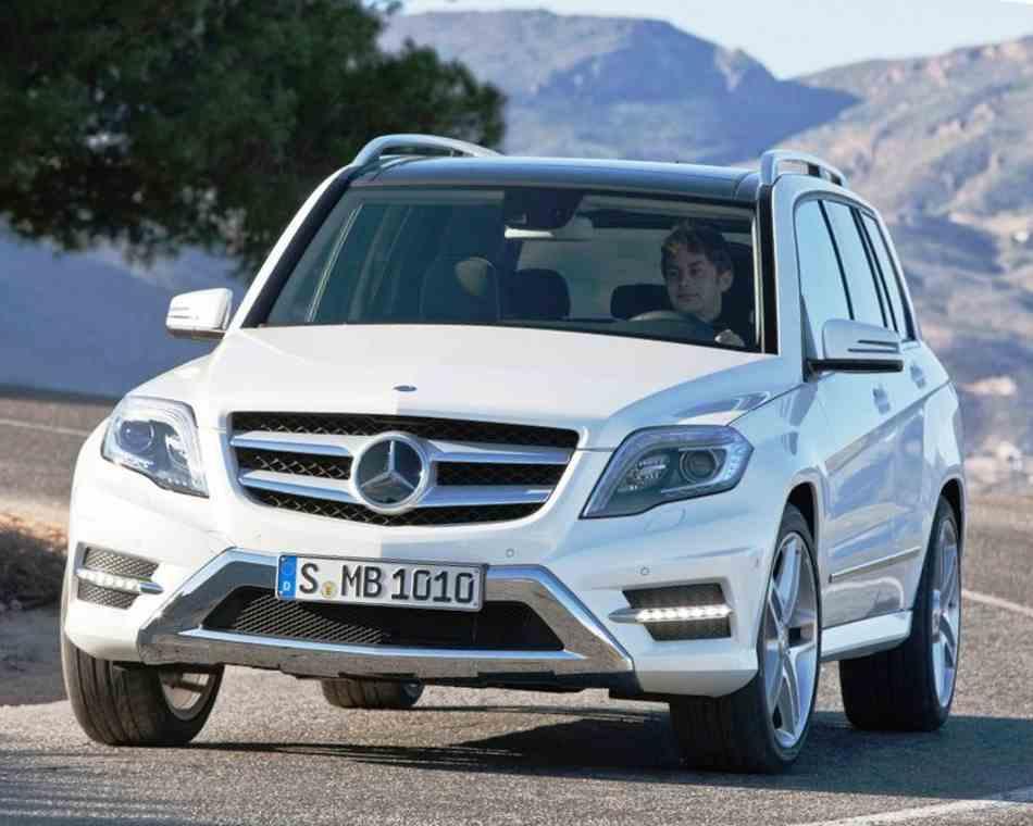 Новый Mercedes GLK-Class 2013
