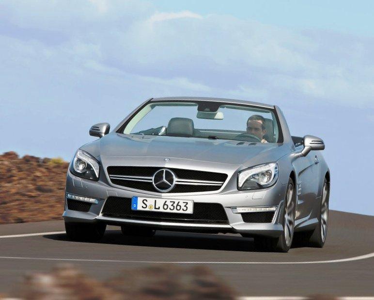 Новый Mercedes SL63 AMG 2013