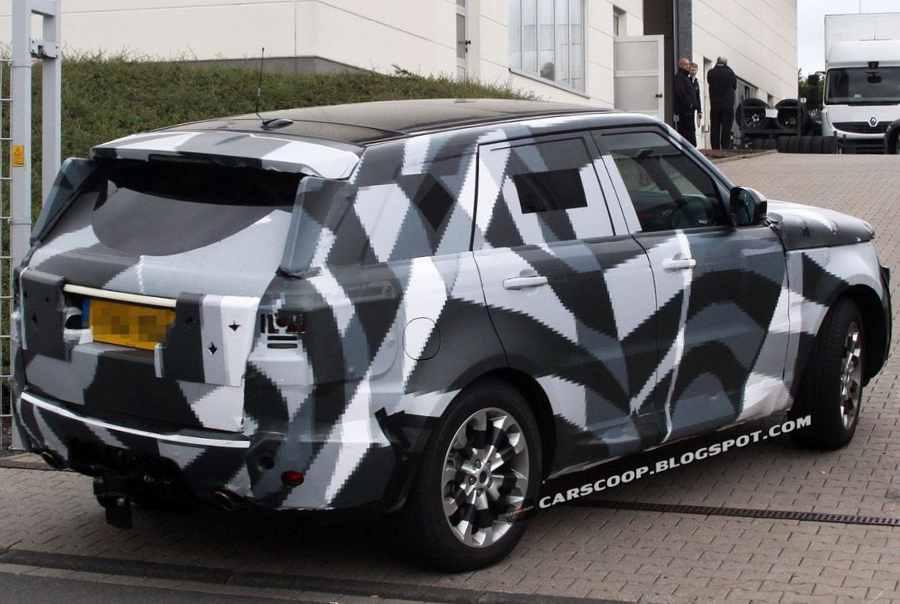 Range Rover 2013 ещё фото