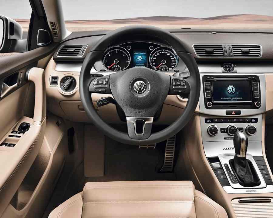 Салон Volkswagen Passat Alltrack 2012
