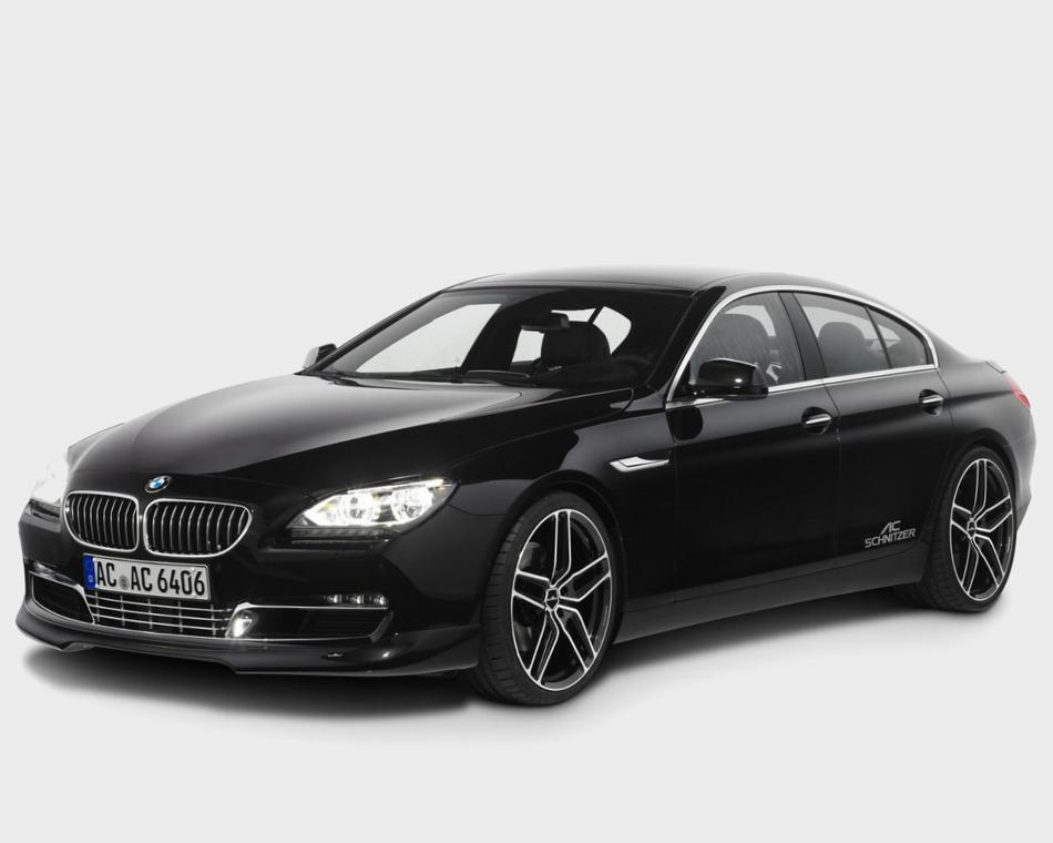Спойлер BMW 6-Series Gran Coupe 2013
