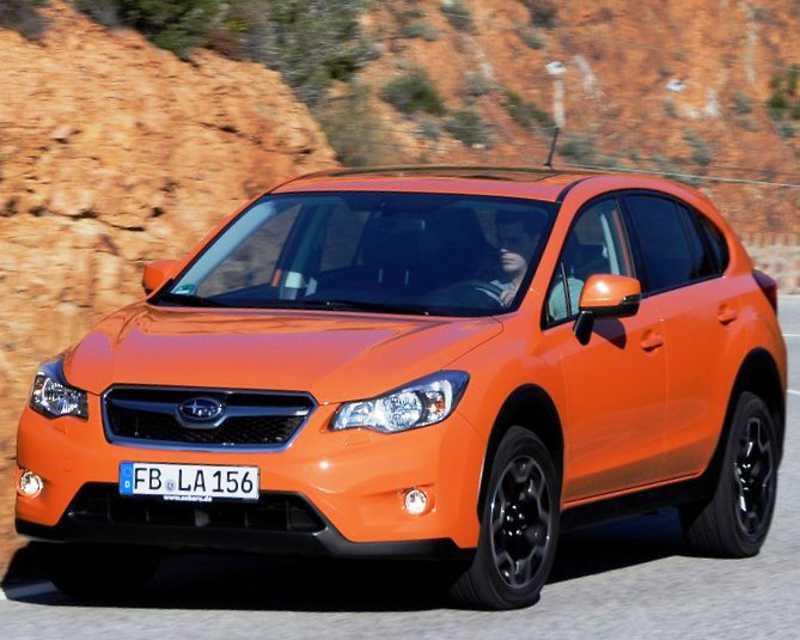 Тест-драйв Subaru XV 2012
