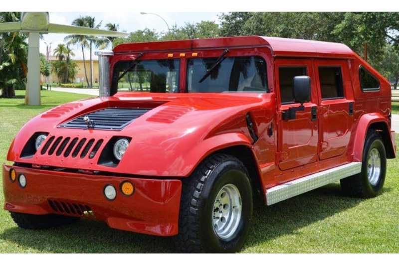 Тюнинг Hummer H1