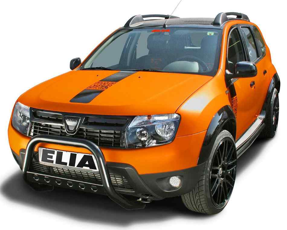 Тюнинг Renault Duster Color Concept фото