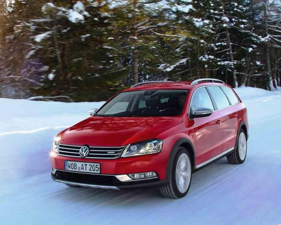 Volkswagen Passat Alltrack 2012