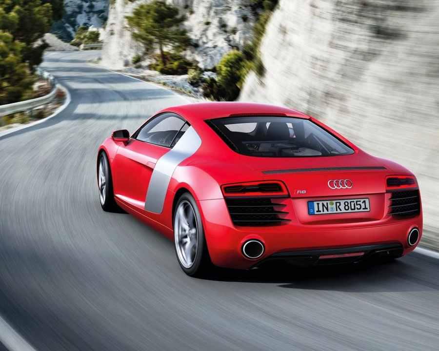 Задние фонари Audi R8 2013
