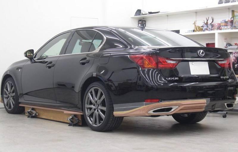 Задние фонари Lexus GS F Sport 2012
