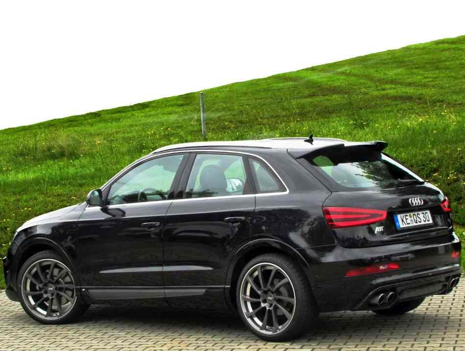 Задний бампер Audi Q3 2012