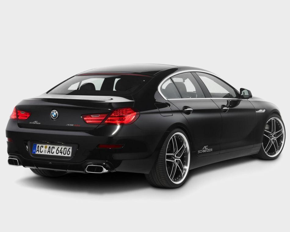 Задний бампер Тюнинг BMW 6-Series Gran Coupe 2013