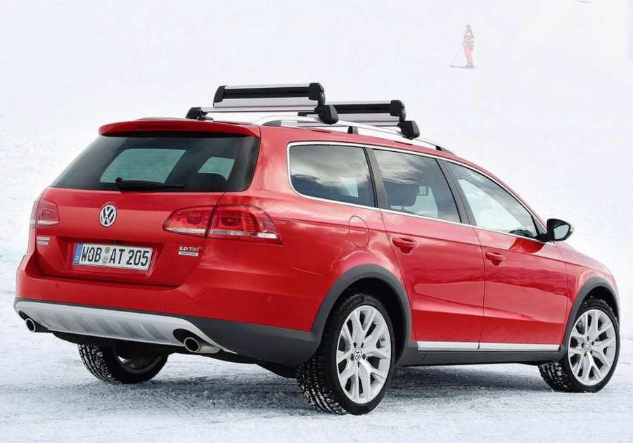 Задний бампер Volkswagen Passat Alltrack 2013