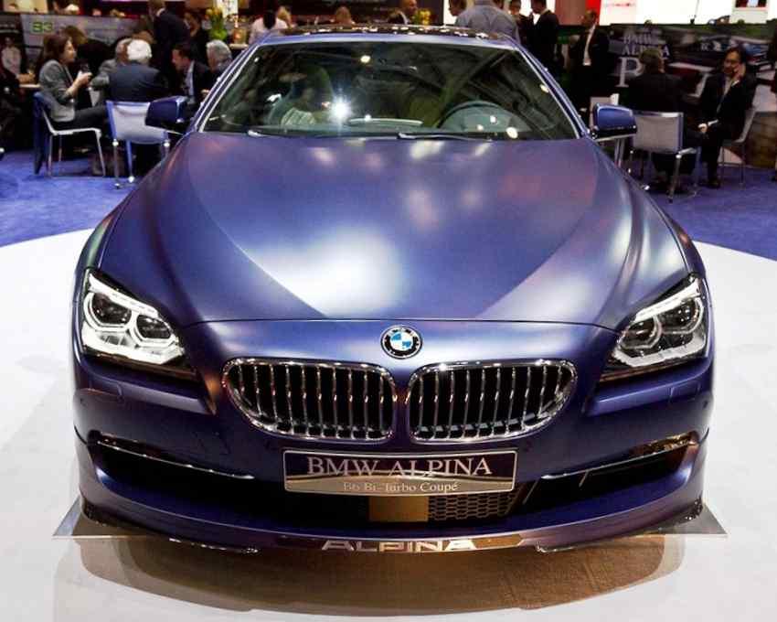 BMW Alpina B6 2013