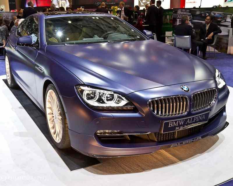 Бампер и фары BMW Alpina B6 2013