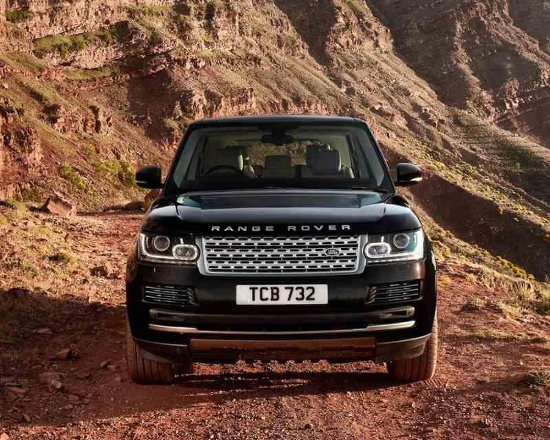 Фары Land Rover Range Rover 2013 года