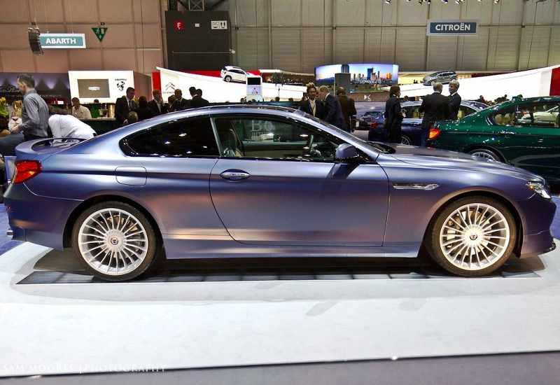 Фото сбоку BMW Alpina B6 2013