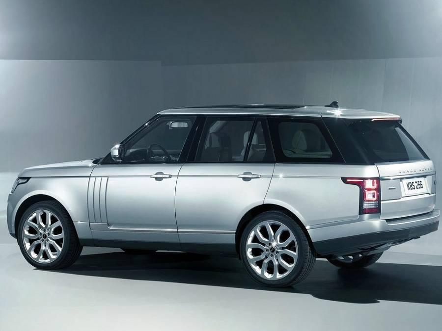 Фото сбоку Land Rover Range Rover 2013-2014