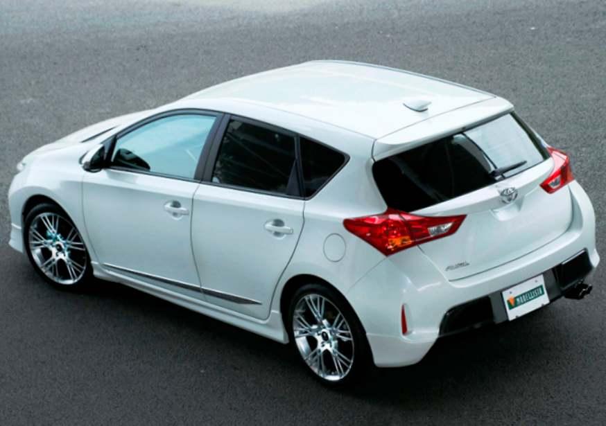 Фото тюнинга Toyota Auris 2013