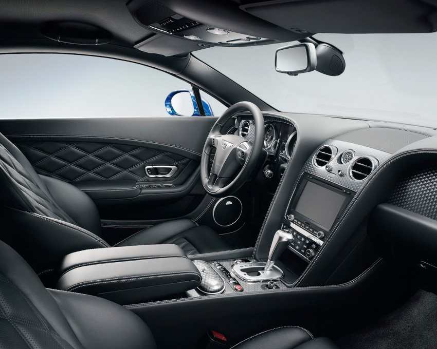 Интерьер Bentley Continental GT Speed 2013 года