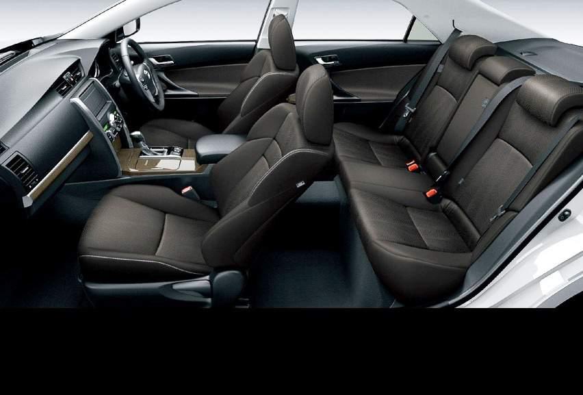 Интерьер Toyota Mark X 2013