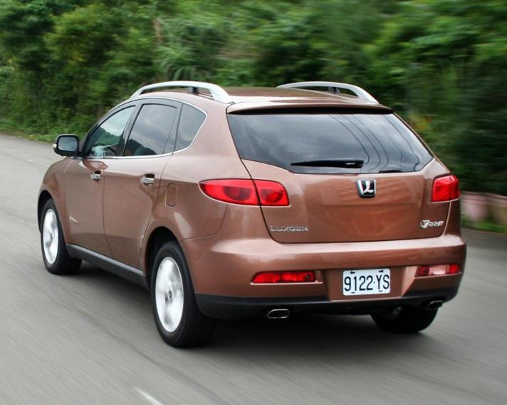 Luxgen 7 SUV задняя часть кузова