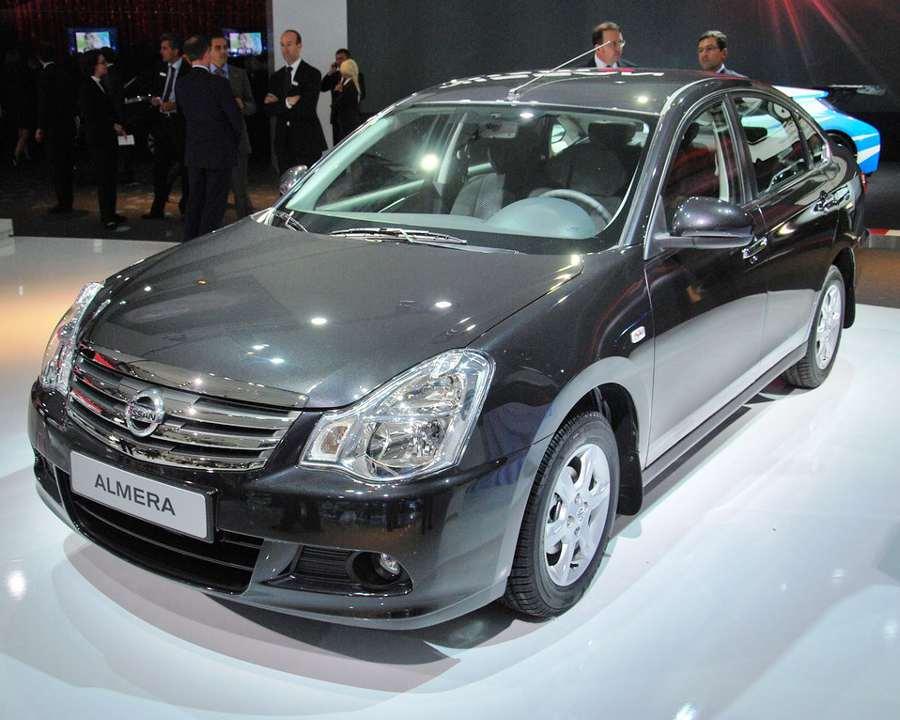 Nissan Almera 2013 в России