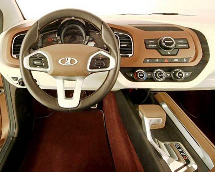 Концепт Lada XRAY: фото, видео