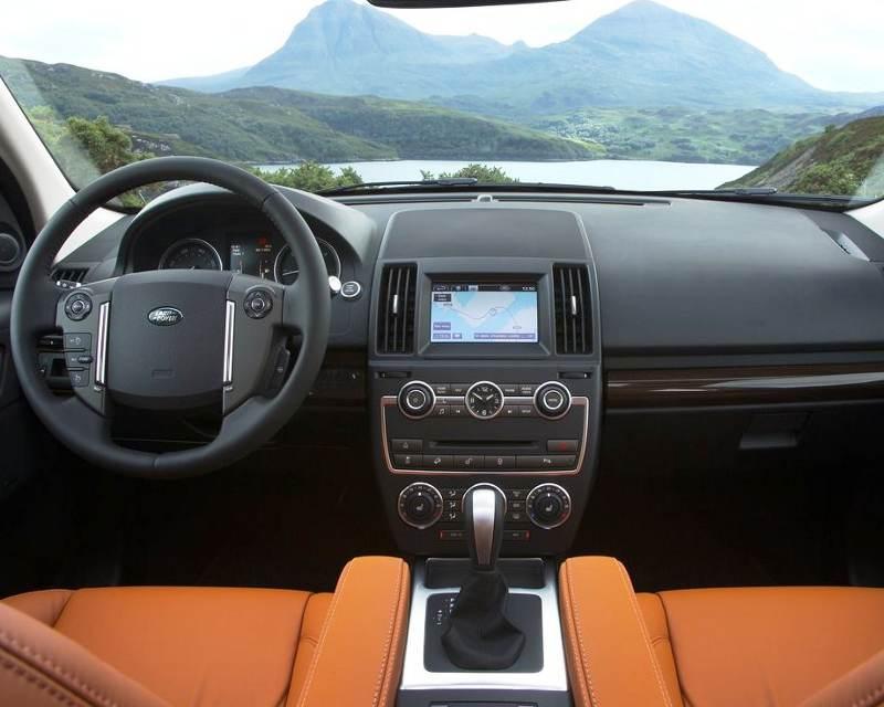 Салон Land Rover Freelander 2 2013