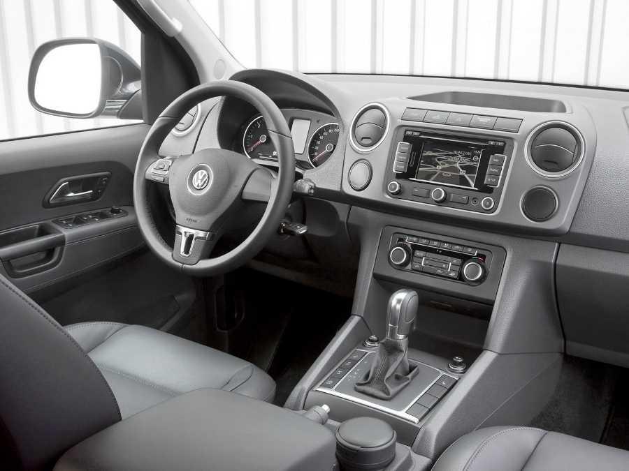 Салон Volkswagen Amarok 2012-2013
