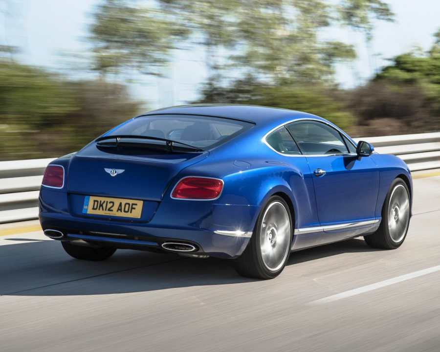 Задние фонари Bentley Continental GT Speed 2013