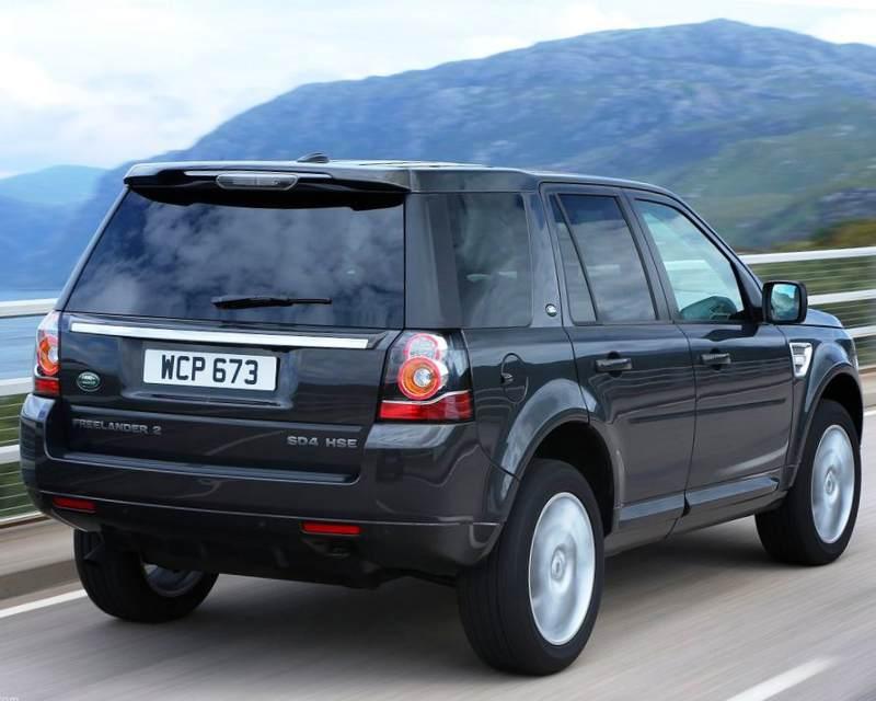 Задний бампер Land Rover Freelander 2 2013