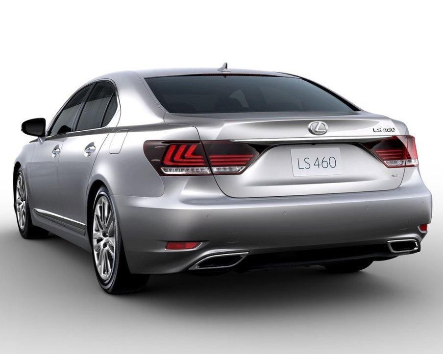 Задний бампер Lexus LS 460 2013