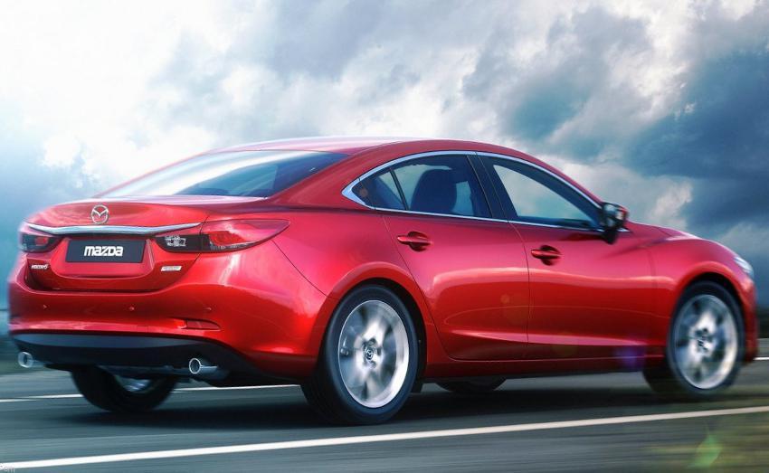 Задний бампер Mazda 6 2013