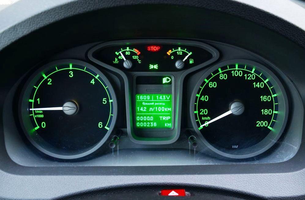 панель приборов ГАЗель Next 2013
