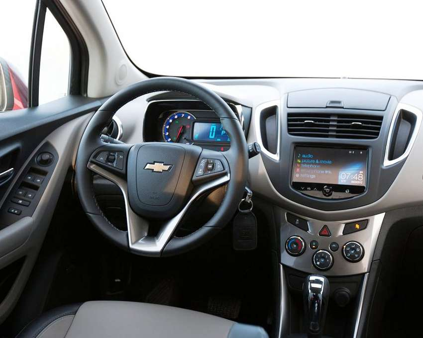 салон Chevrolet Trax