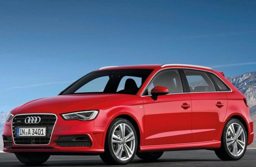 фото Audi A3 Sportback S-Line 2013 года