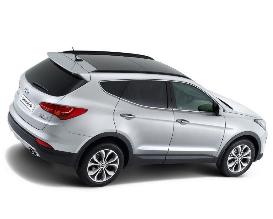 Фото Hyundai Santa Fe 2013 сбоку