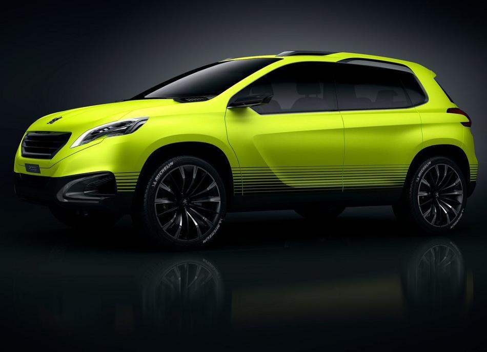 Фото Peugeot 2008 Concept сбоку