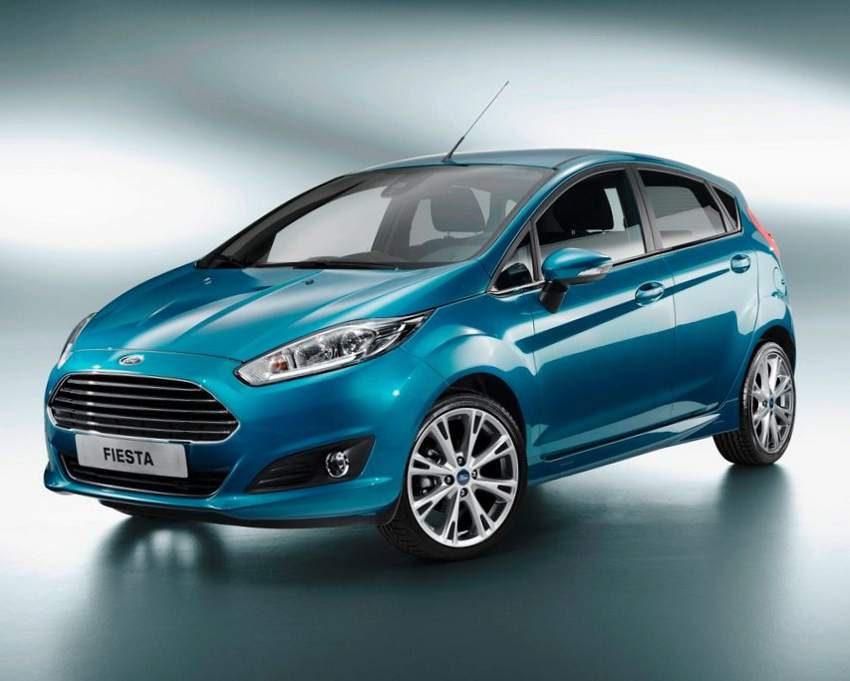 Фото хетчбэка Ford Fiesta 2015 г.в.