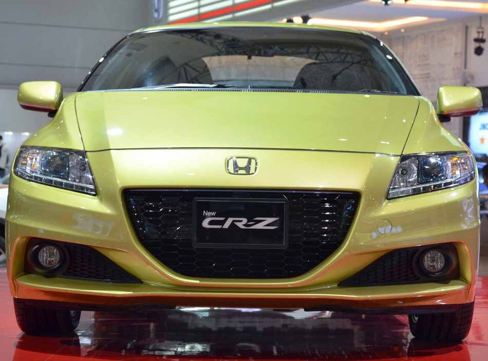 Фото купе Honda CR-Z 2013 года