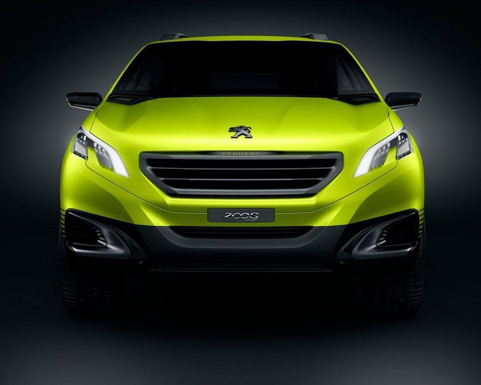 Концепт Peugeot 2008 2013