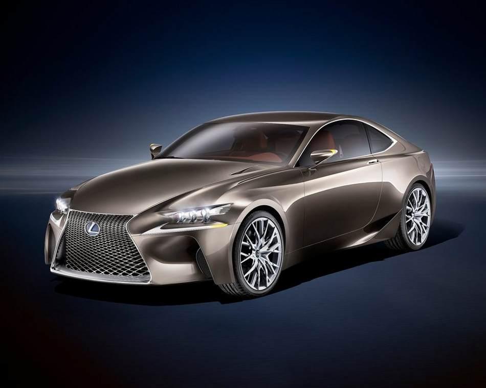 Lexus LF-CC 2012