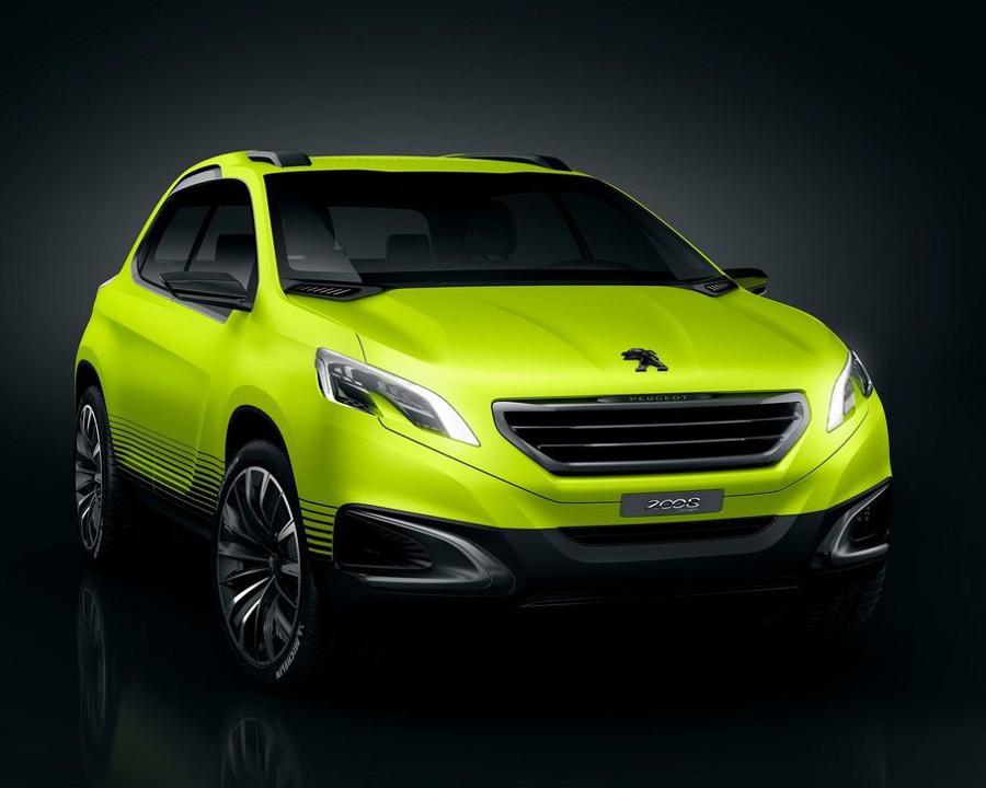 Оптика Peugeot 2008 2013 года