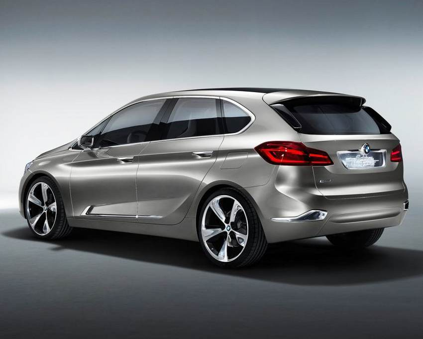 Задний бампер BMW Active Tourer Concept 2012