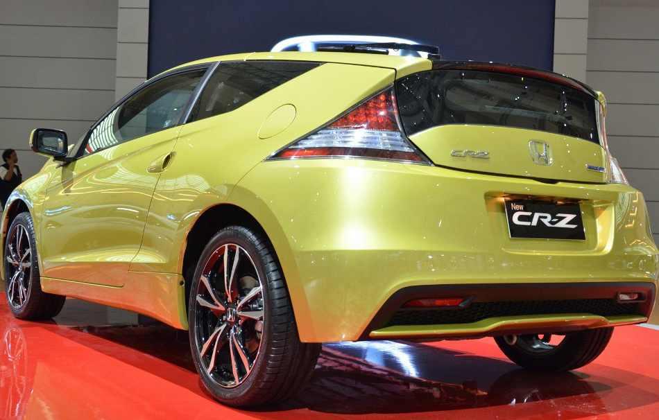 Задний бампер Honda CR-Z 2013