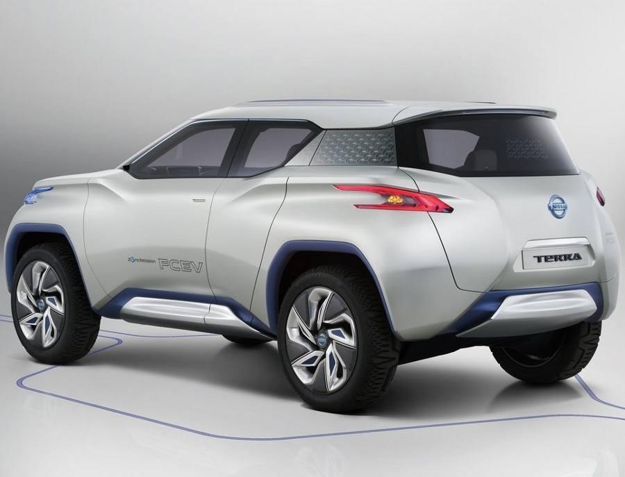 Задний бампер Nissan TeRRA 2012