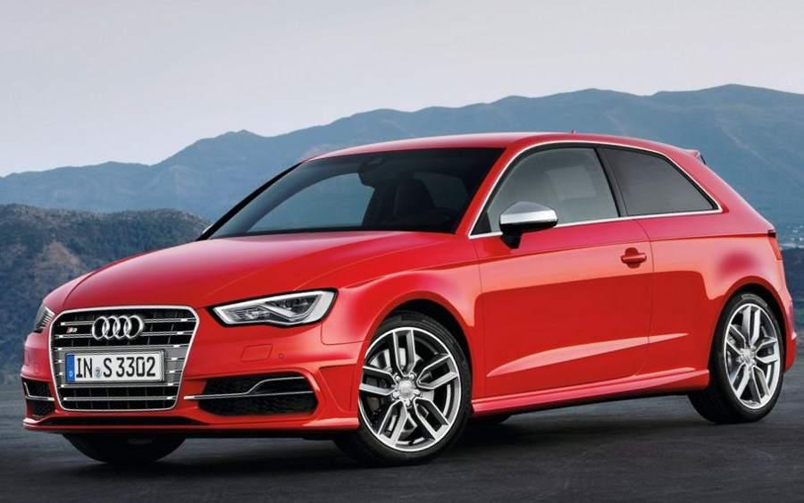 фото Audi S3 2013 сбоку